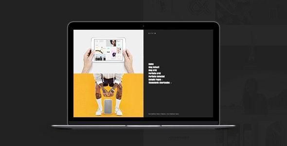 North: Creative Bold Modern Grid Portfolio Theme - Creative WordPress