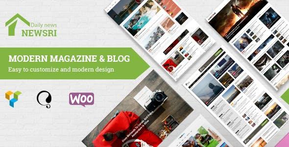 Newsri - WordPress Magazine Theme