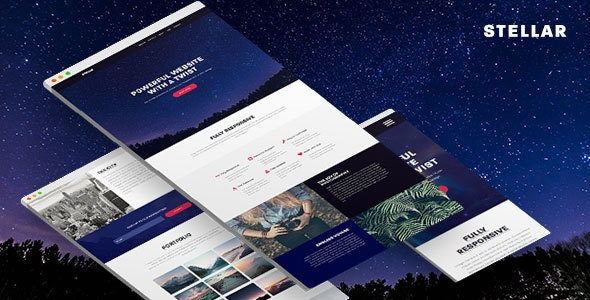 Stellar - Responsive Muse Template for Creatives & Agencies - Corporate Muse Templates