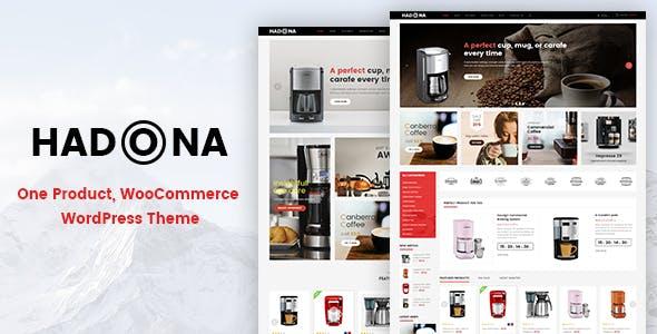 Hadona - One Product, WooCommerce WordPress Theme