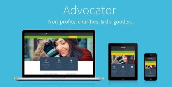 Advocator: Nonprofit & Charity Responsive WordPress Theme - Charity Nonprofit