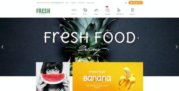 Pts Fresh - Responsive Food & Restaurant Prestashop 1.6 & 1.7 Theme