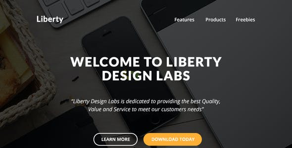 Liberty - Responsive Email + Themebuilder Access
