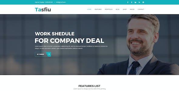 Tasfiu - Corporate PSD Template
