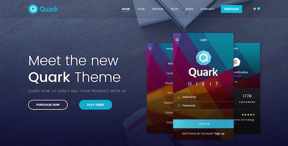Quark - Single Product Shopify Theme