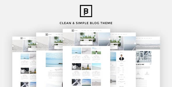BasicMag - Minimalist Responsive Personal Blog - Personal Blog / Magazine