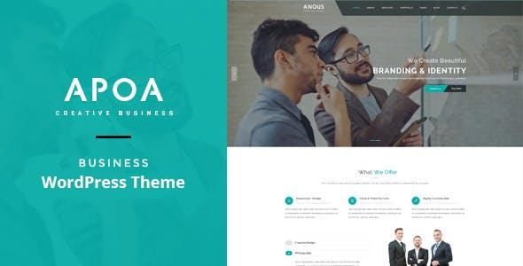 Apoa - Business WordPress Theme