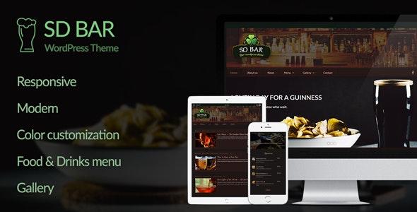 SD Bar - WordPress Theme - Nightlife Entertainment