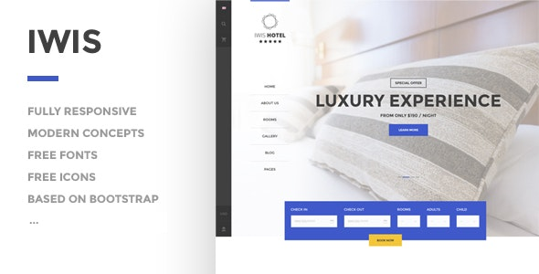 IWIS - Hotel HTML Template - Travel Retail