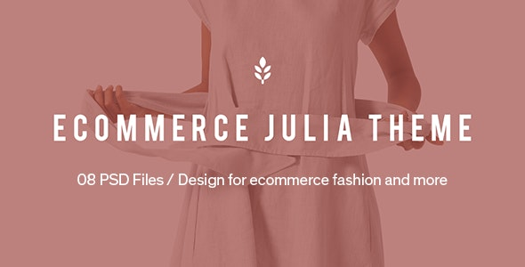 Julia – Ecommerce PSD Template - Fashion Retail
