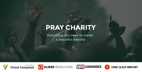 Pray - Charity / Nonprofit / Fundraising WordPress - Charity Nonprofit
