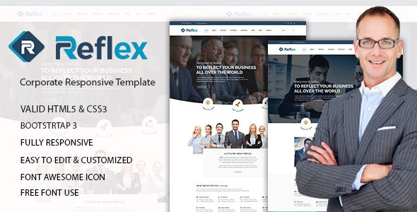 Reflex - Corporate Responsive HTML Template - Corporate Site Templates