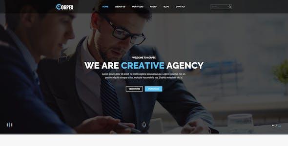 Corpex - Corporate PSD Template