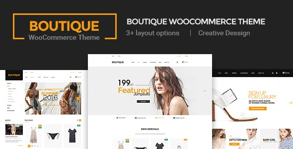 Boutique - Creative Multi-Purpose WooCommerce Theme - WooCommerce eCommerce