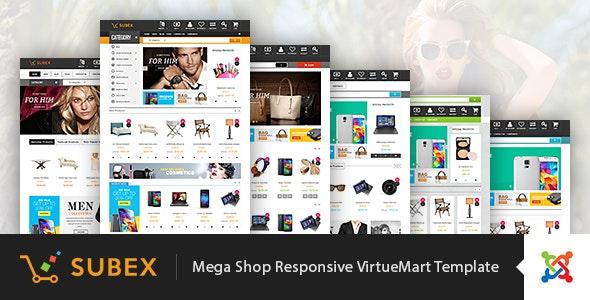 Vina Subex - Mega Shop Responsive VirtueMart Template - Fashion Retail