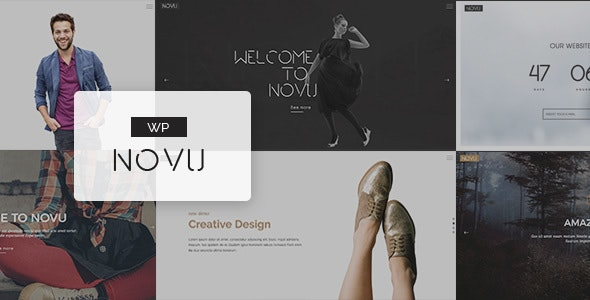Novu - Modern & Creative WordPress Theme - Creative WordPress
