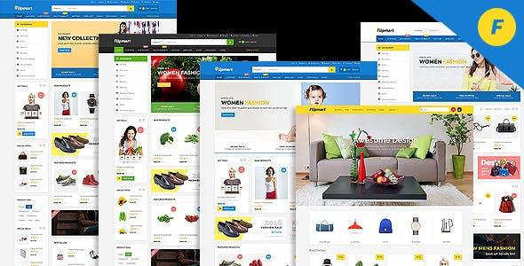 Flipmart - Responsive  Ecommerce Template