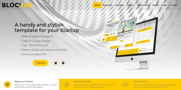 Blockus – Handy and Stylish Business Template - Business Corporate