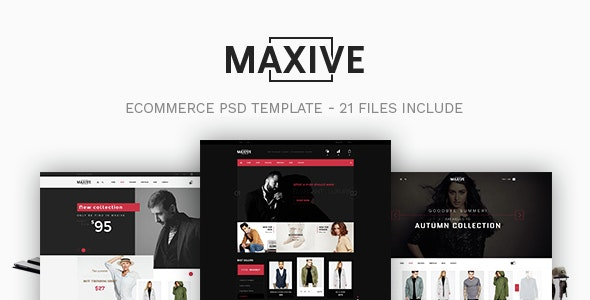 Maxive Responsive Shopify Theme - Fashion Shopify