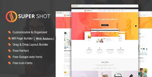 SuperShot   Creative WordPress Theme - Creative WordPress