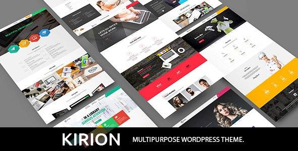 Kirion - Multipurpose WordPress Theme - Business Corporate