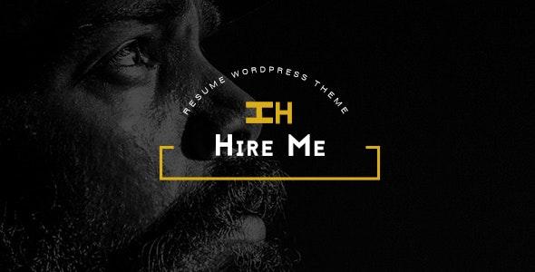 Hire Me - Personal vCard, Portfolio WordPress Theme - Portfolio Creative