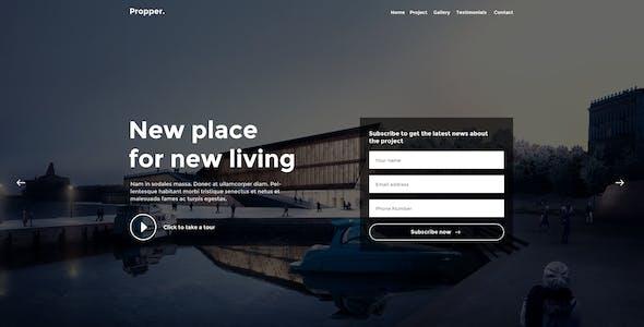 Propper - Architecture PSD Template