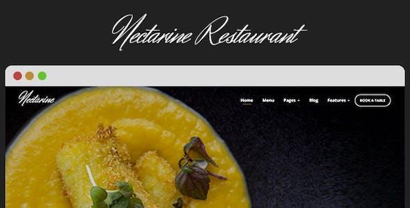 Nectarine - Responsive Restaurant Theme