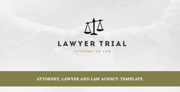 LawyerTrial – Antony Joomla template - Business Corporate
