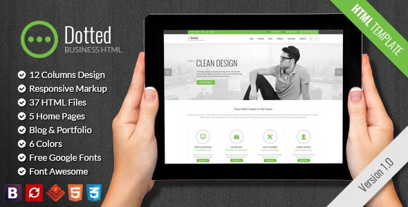 Dotted - Business & Corporate HTML Template - Business Corporate