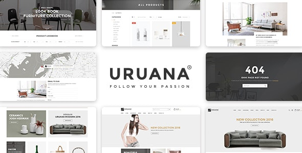 Uruana – Multi Concept eCommerce PSD Template - Retail Photoshop
