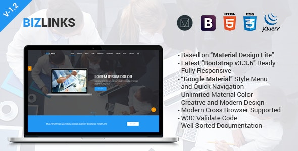 BizLinks | Multipurpose Business and Agency HTML Template - Business Corporate