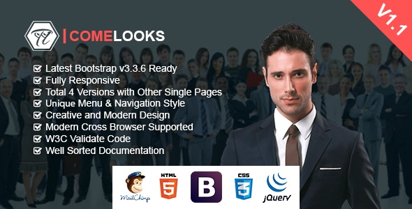 ComeLooks | Multipurpose Business HTML Template - Business Corporate