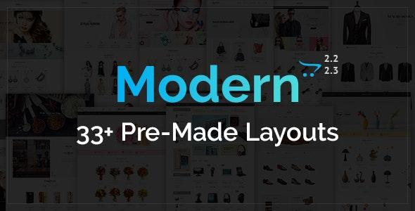 Modern - Opencart Multi Purpose Responsive Theme - Shopping OpenCart