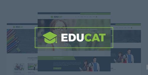 Educat –  Education HTML Template + RTL - Nonprofit Site Templates