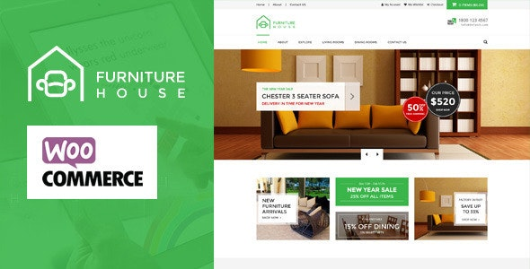 Furniture - WooCommerce WordPress Theme - WooCommerce eCommerce