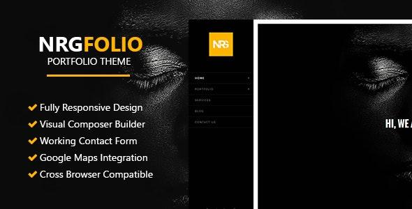 NRGFolio - Multi-Purpose Portfolio WordPress Theme - Portfolio Creative