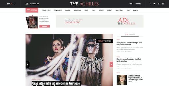 ACHILLES - Multipurpose Magazine PSD Template