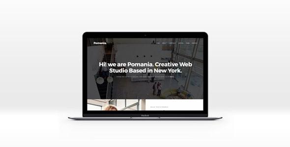 Pomania - Multi-Purpose HTML Template - Corporate Site Templates