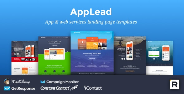AppLead | HTML App Landing Pages - Landing Pages Marketing
