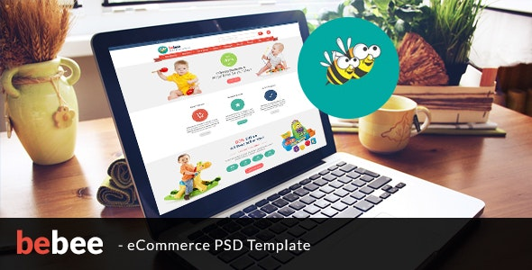BeBee – eCommerce PSD template - Fashion Retail