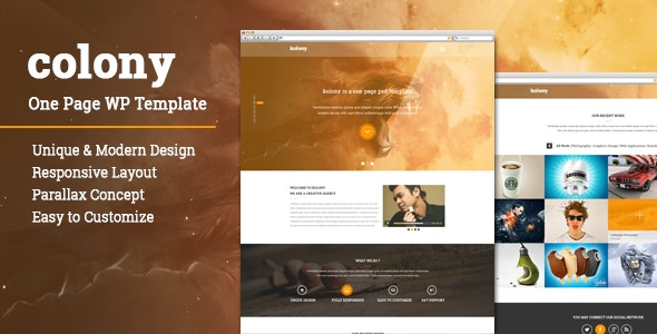 Colony WordPress Theme - Creative WordPress