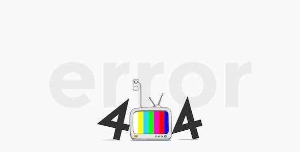 UkieWorld 404 - Awesome SVG Animated Pack