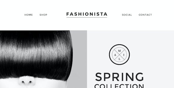 Fashionista - Responsive Email + Themebuilder Access