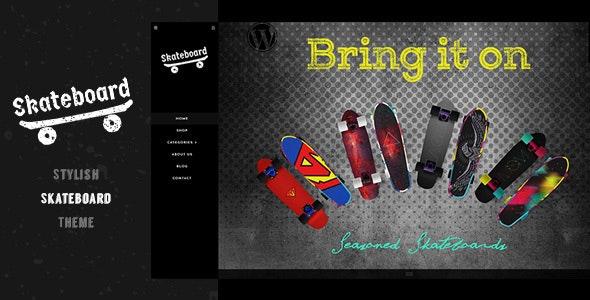 Skate - Skateboard Shop Sports Shopify - Miscellaneous Shopify