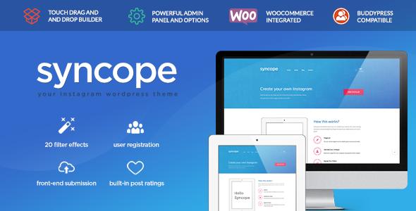 Syncope - Photo Sharing Community - Entertainment WordPress