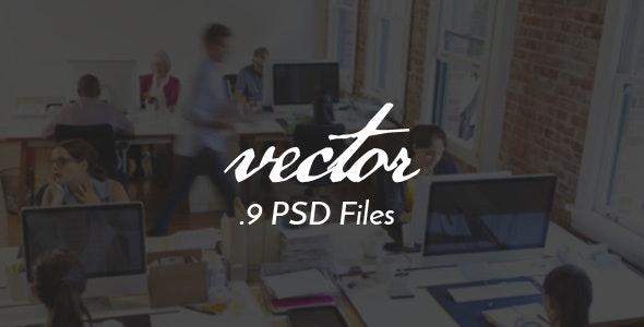 Vector Minimal PSD Template - Creative Photoshop