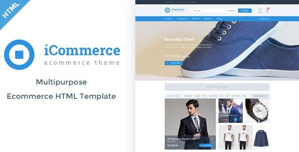 iCommerce - Ecommerce HTML Template - Fashion Retail