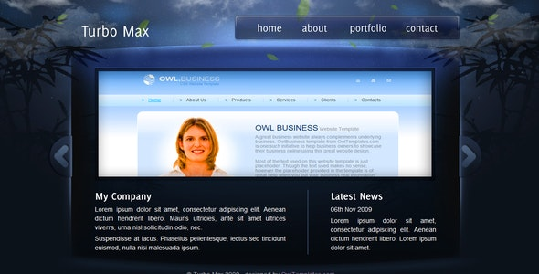 TurboMax - Powerfull all in one - Creative Site Templates