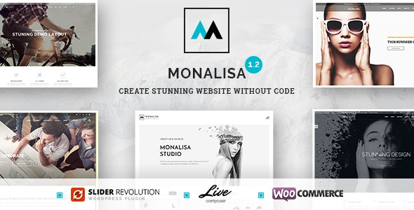 Monalisa - Creative Multipurpose WordPress Theme - Corporate WordPress